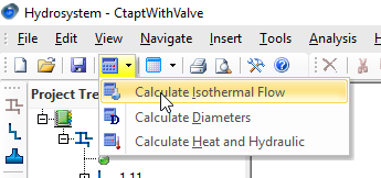 Calculating isothermal Flow