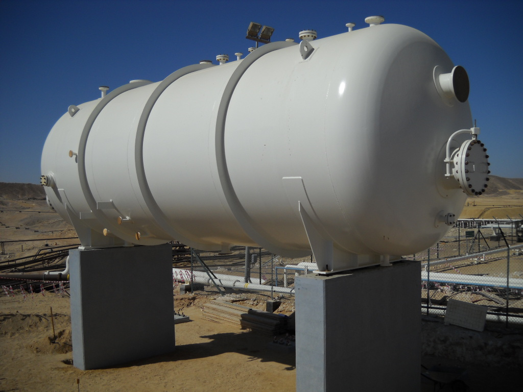 Typical Pressure Vessel for a Process Plant