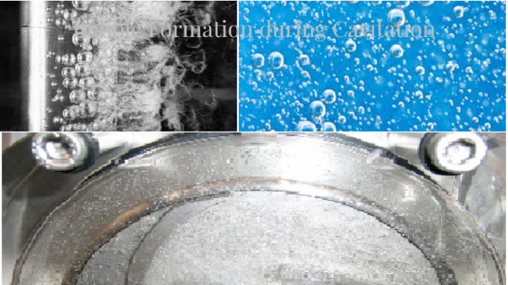 Bubble Formation During Cavitation