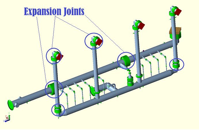 Expansion Joints in Caesar II