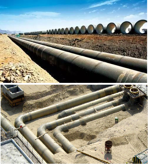Typical Buried Piping