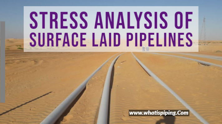 STRESS ANALYSIS OF SURFACE LAID PIPELINES