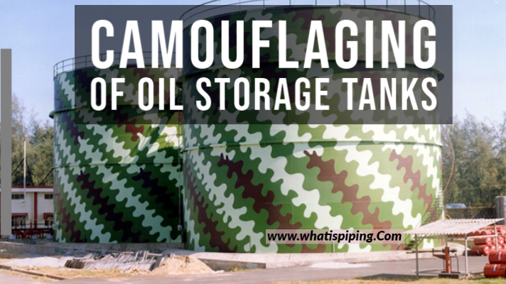 Camouflaging of Oil Storage Tanks