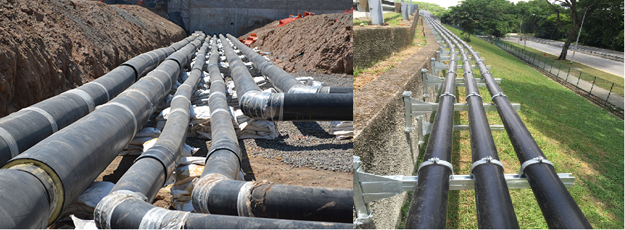 Typical HDPE Piping System