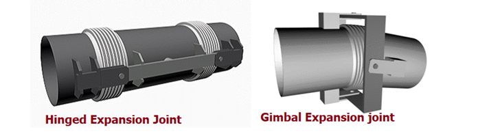 Hinged and Gimbal expansion joints