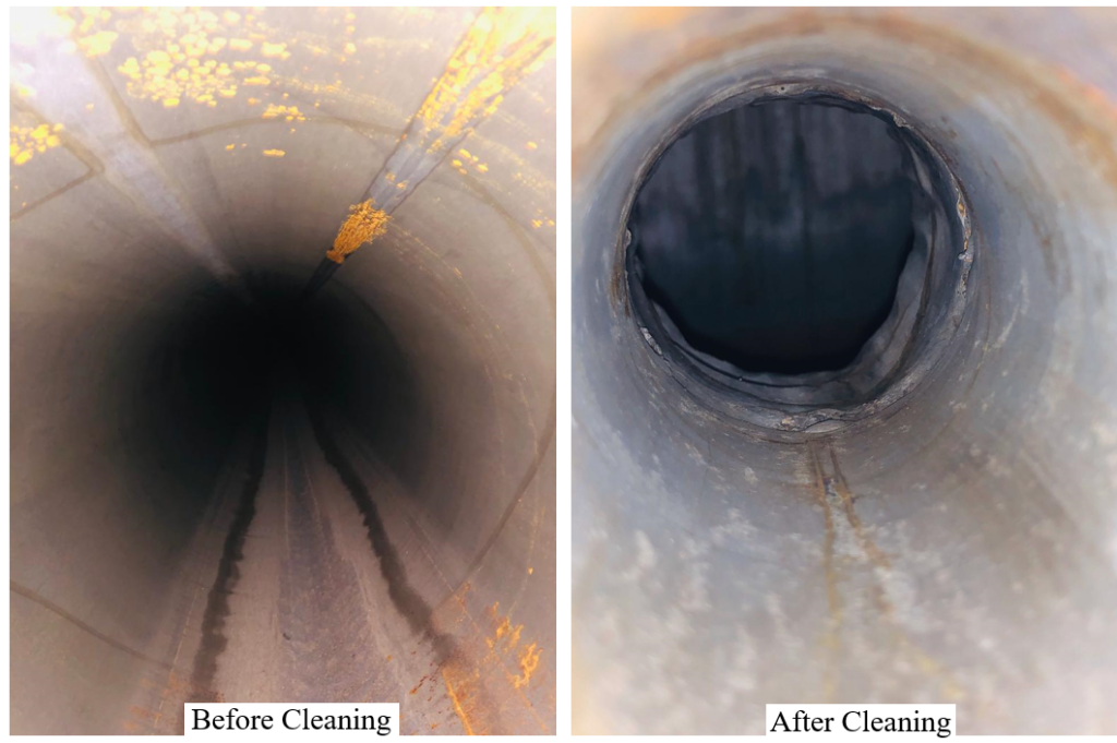 Inspection after Chemical Cleaning