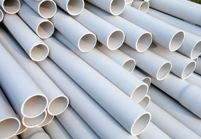 Typical PVC Pipes