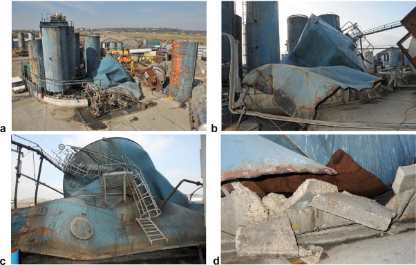 Stage wise explanation of storage tank failure due to PVRV failure
