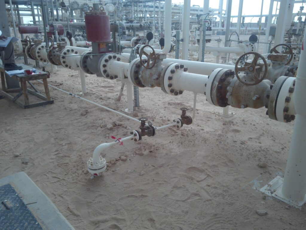 Bolted Flanged Joints at operating plant