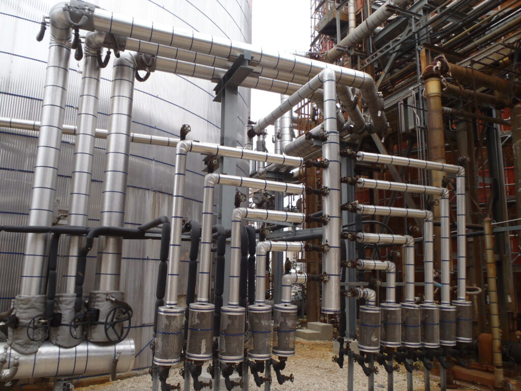 High Temperature Piping System