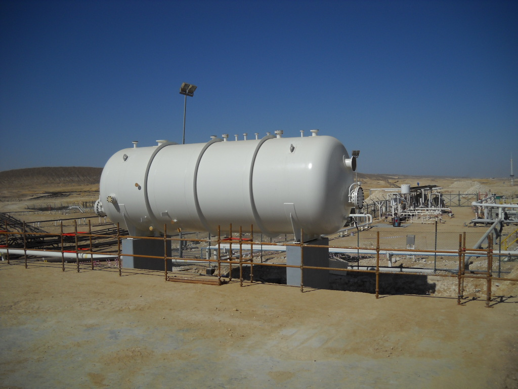 Separator used in an oil and gas industry