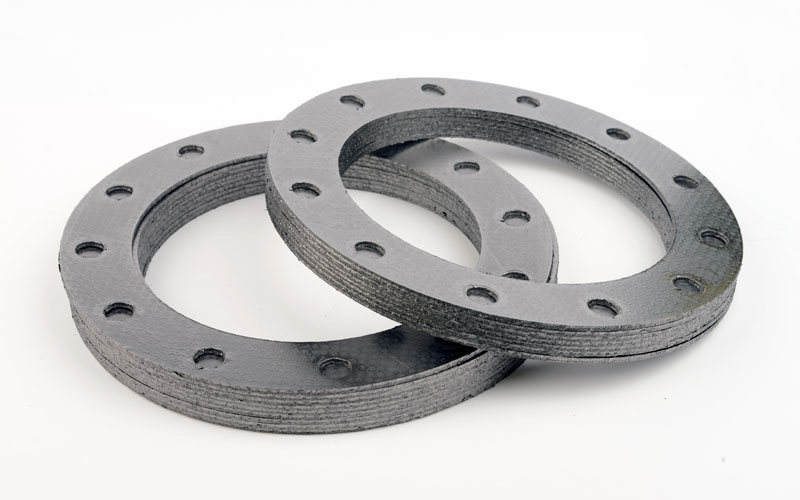 Typical Graphite Laminated Gaskets