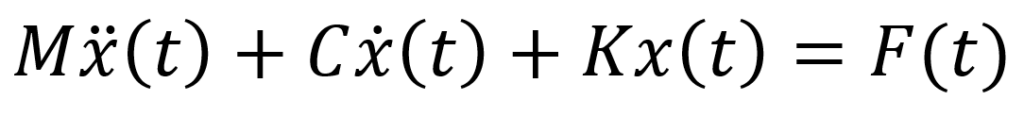 Dynamic Equation of Motion