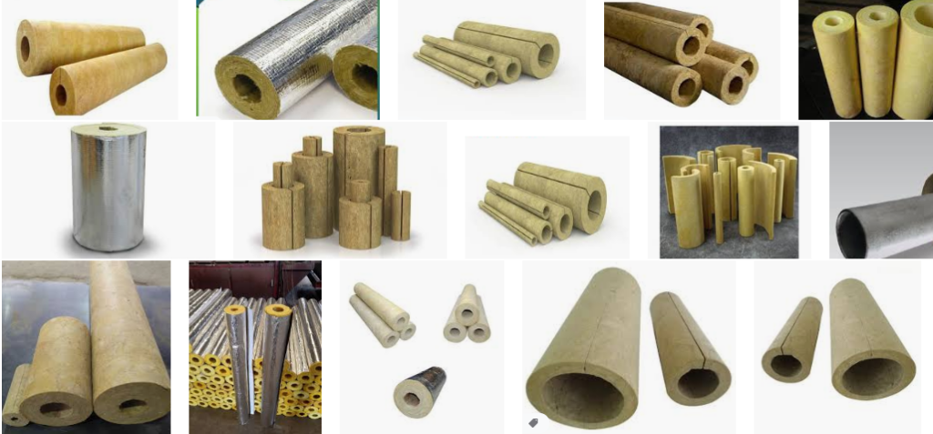 Mineral Wool Piping Insulation