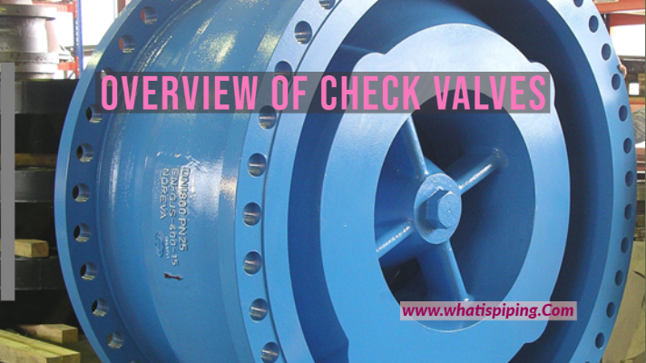 What are Check Valves? Types and Working