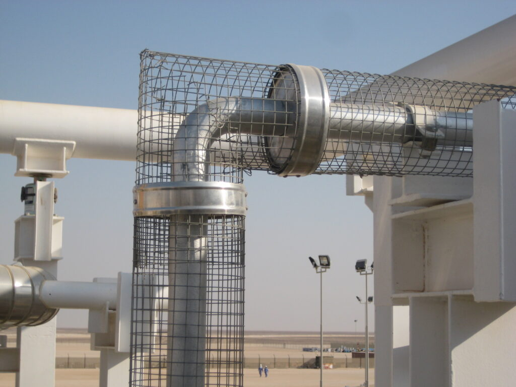 Personal Protection Insulation in Operating Plant