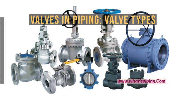 Valves in Piping: Valve types