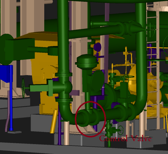 Example of Control Valve Assembly