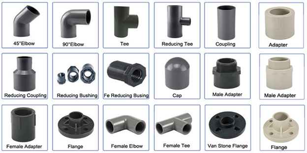 PVC Piping Fittings