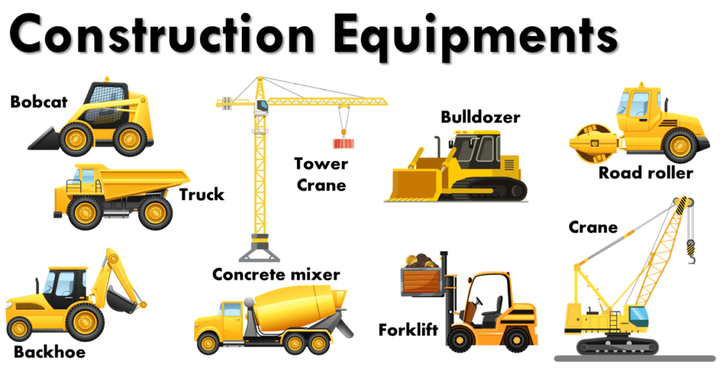 Names of Construction Equipment
