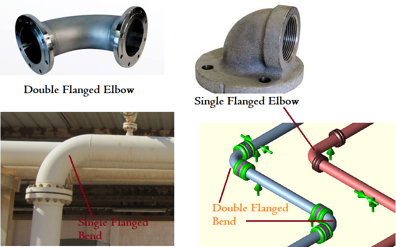 Single and Double Flanged Elbow