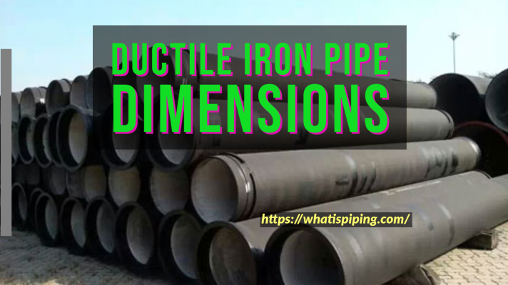 Ductile Iron Pipe Dimensions