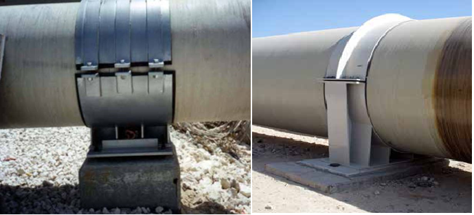 FRP Pipe Supporting