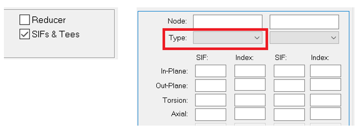 SIF types selection while specifying user defined SIF