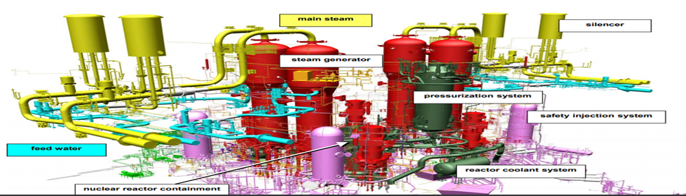 High pressure piping in nuclear power plants